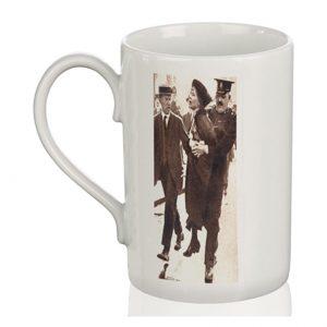 Porcelain Mug: Pankhurst Arrest
