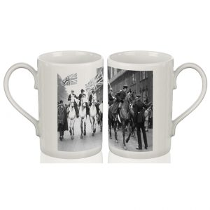 Porcelain Mug: Women's Strike Demonstration