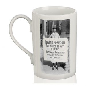 Porcelain Mug: To Ask For Freedom