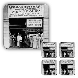 Coaster Set: Suffragettes Headquarters