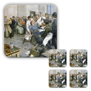 Coaster Set: Suffragettes Being Force Fed