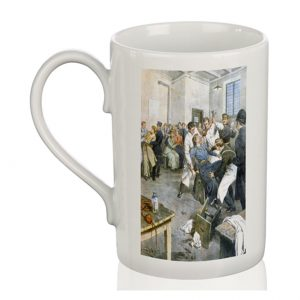 Porcelain Mug: Suffragettes Being Force-Fed