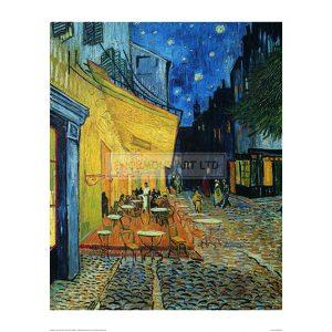 VAN005 Cafe Terrace at Night