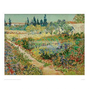 VAN021 Blooming Garden with Path