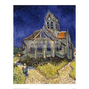 VAN040 Church at Auvers-Sur-Seine