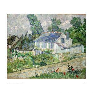 VAN062 Houses in Auvers
