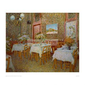 VAN064 Interior of Restaurant in Paris