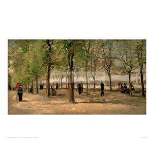 VAN073 Lane at the Jardin du Luxembourg