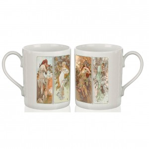 Bone China Mug: Seasons, 1896