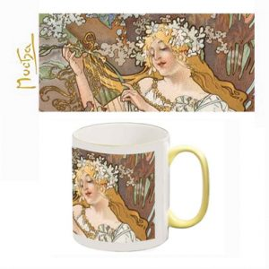Two-Tone Mug: The Four Seasons (Spring) Detail