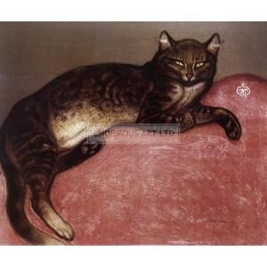 STE004 Chat Allonge (Lounging Cat), 1909