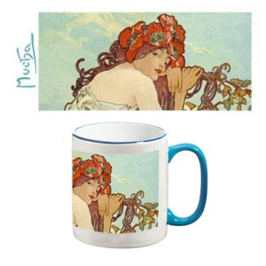 Two-Tone Mug: The Four Seasons (Summer) Detail