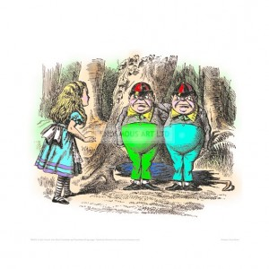TEN010 Alice Meets Tweedledee and Tweedledum