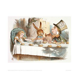 TEN024 The Mad Hatter's Tea Party, 1890 (Col Version 1)
