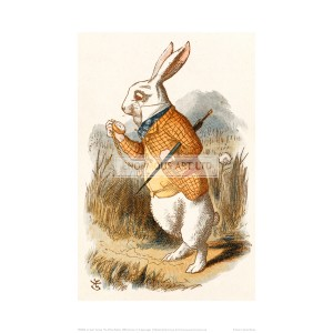 TEN026 The White Rabbit, 1890 (Version 1)