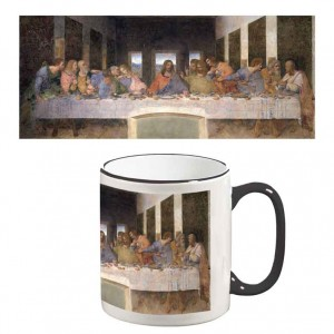 Two-Tone Mug: The Last Supper
