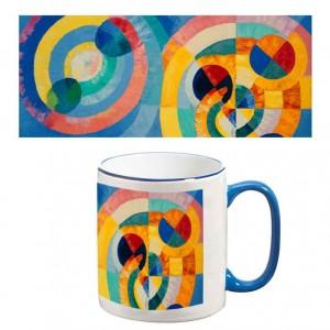 Two-Tone Mug: Circle Forms