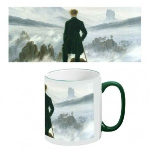 Two-Tone Mug: The Wanderer above the Sea of Fog