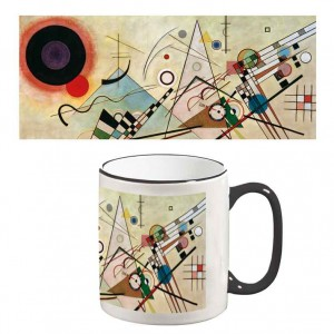 Two-Tone Mug: Composition VIII