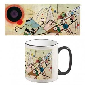 Two-Tone Mug: Composition VIII