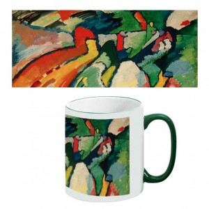 Two-Tone Mug: Improvisation 7 (Storm)