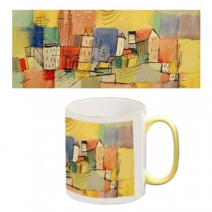 Two-Tone Mug: German City