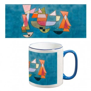 Two-Tone Mug: Sailing Boats