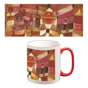 Two-Tone Mug: The Rose Garden