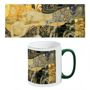 Two-Tone Mug: Sea Serpents