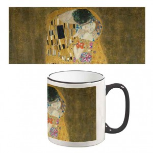 Two-Tone Mug: The Kiss