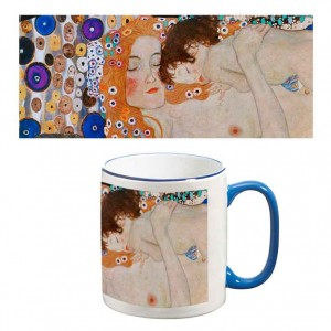 Two-Tone Mug: Three Ages of Woman (Detail)