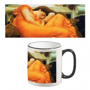 Two-Tone Mug: Flaming June