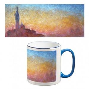 Two-Tone Mug: San Giorgio Maggiore (Sunset in Venice)