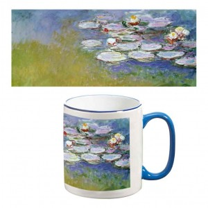 Two-Tone Mug: Waterlillies, 1914