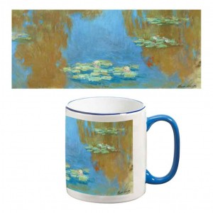 Two-Tone Mug: Waterlillies, 1903