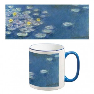 Two-Tone Mug: Waterlillies, 1908