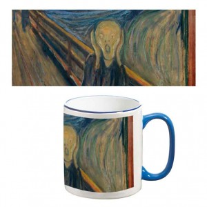 Two-Tone Mug: The Scream