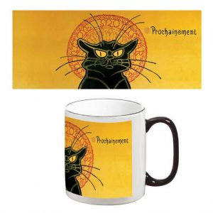 Two-Tone Mug: Chat Noir