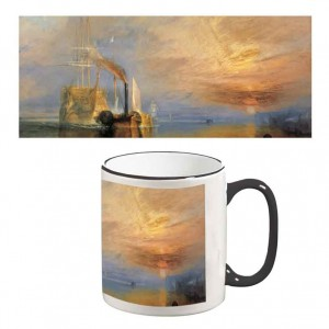 Two-Tone Mug: The Fighting Temeraire