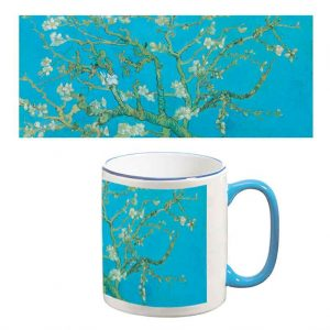 Two-Tone Mug: Almond Blossom