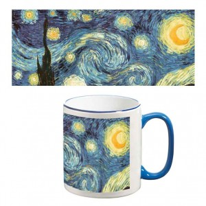 Two-Tone Mug: Starry Night