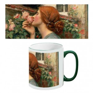 Two-Tone Mug: Soul of a Rose
