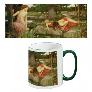 Two-Tone Mug: Echo and Narcissus