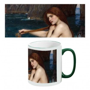 Two-Tone Mug: A Mermaid