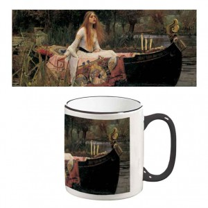 Two-Tone Mug: The Lady of Shalott