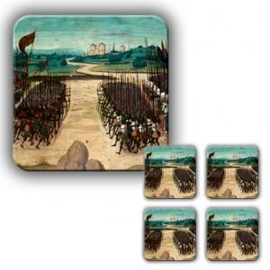 Coaster Set: The Battle of Agincourt