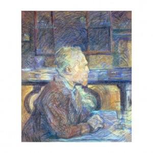 TOU002 Portrait of Vincent Van Gogh