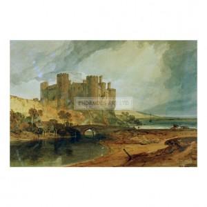 TUR058 Conway Castle, 1798