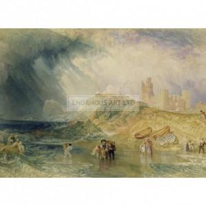 TUR099 Holy Island, Northumberland, 1820