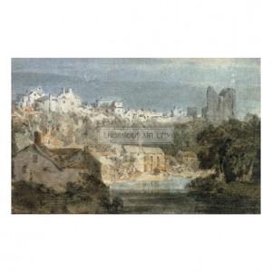 TUR064 Knaresborough Castle, Yorkshire, 1797